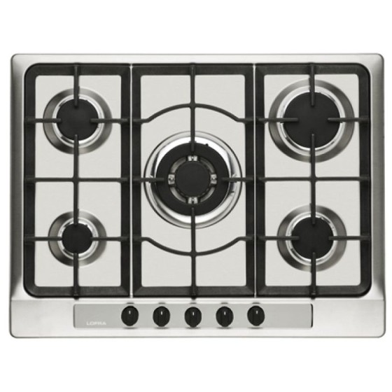 Cooktop 5 Bocas Lofra Inox - Gás - Ths7to