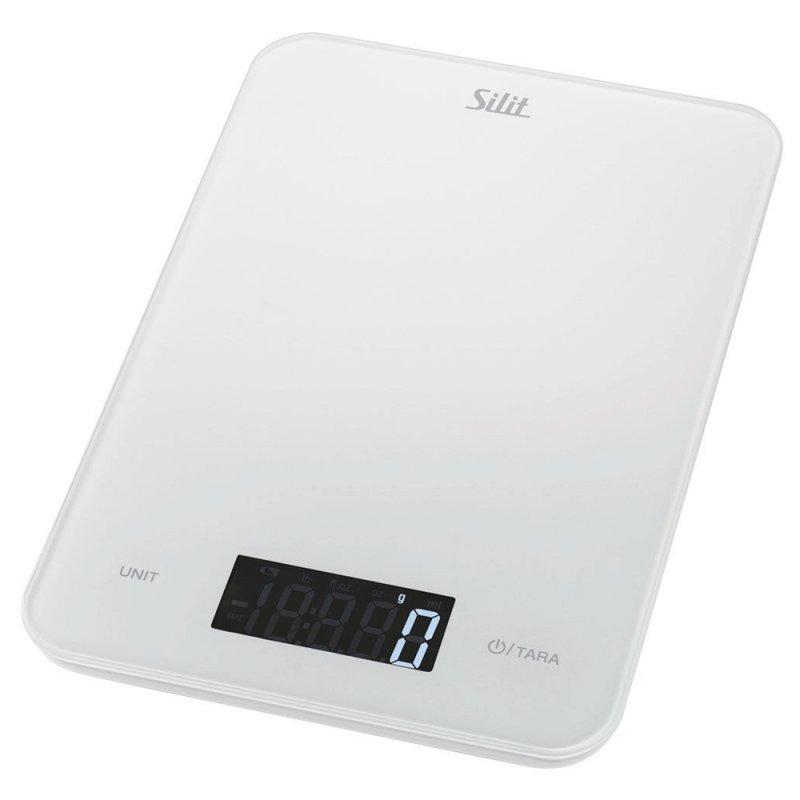Balança de Cozinha Silit El Modo Branco 5kg Digital