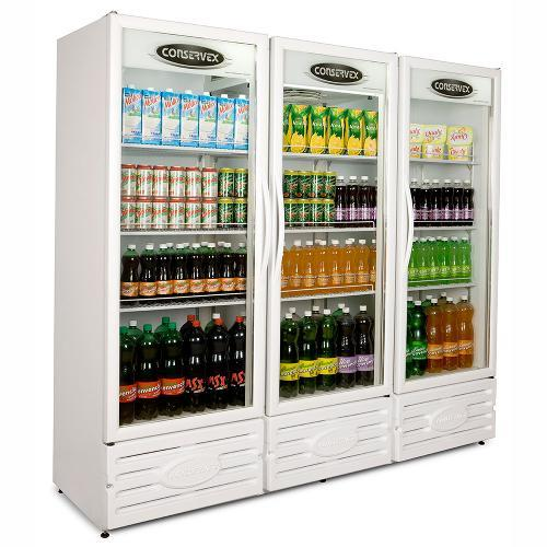 Geladeira/refrigerador 1200 Litros 3 Portas Branco - Conservex - 220v - Erv1300