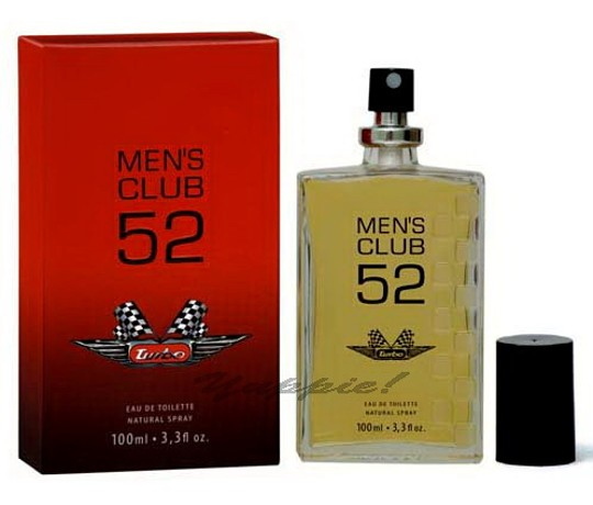 Perfume Turbo Mens Club 52 Eau de Toilette Masculino 100 Ml