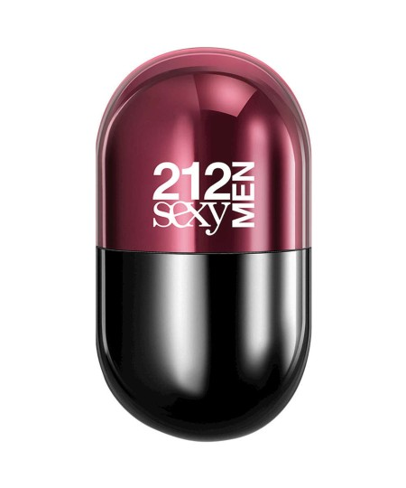 Perfume 212 Sexy Men Pills Carolina Herrera Eau de Toilette Masculino 20 Ml