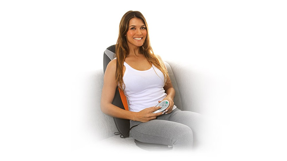 Massageador Assento Shiatsu Hand Touch Bivolt Cinza Relaxmedic Rm-as2601