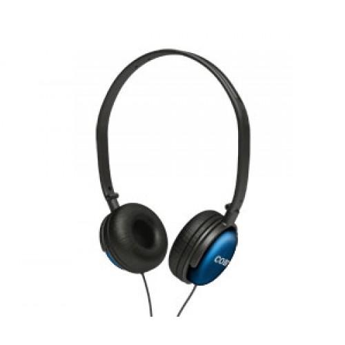 Fone de Ouvido Headphone Conchas Giratórias Prata Coby Cv135