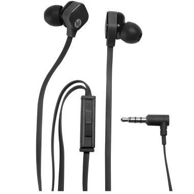 Fone de Ouvido Intra-auricular Com Microfone Preto Hp H2310