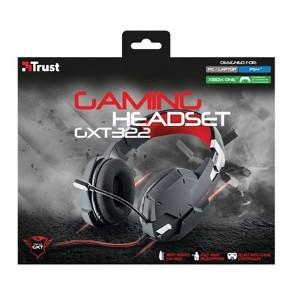 Fone de Ouvido Headset Dynamic Preto e Vermelho Trust Gtx322