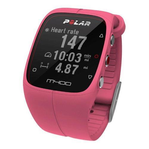 Monitor Cardíaco Sport Rosa Polar - M400
