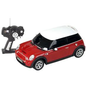 Carro de Controle Remoto Movido a Bateria Mini Cooper Vermelho Cks Toys