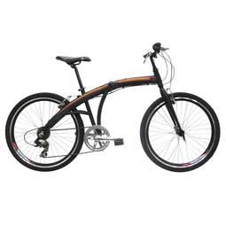 Bicicleta Tito Bike To Go Aro 26 Rígida 7 Marchas - Preto