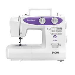 Máquina de Costura Elgin Confiance Jx-6000 31 Pontos Branco - 220v