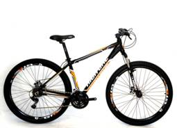 Bicicleta High One Hg1 Aro 29 Susp. Dianteira 21 Marchas - Preto