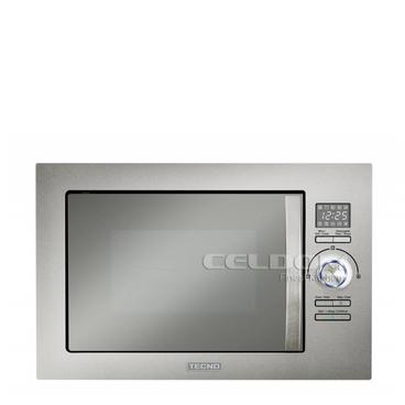 Micro-ondas 25 Litros de Embutir Com Grill - Inox/prata - Tecno - Tm25exda2 - 220v