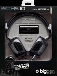 Fone de Ouvido Headphone Gamer Preto Bigben Interactive Xphs10