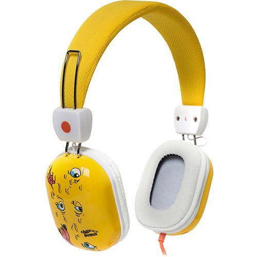 Fone de Ouvido Headphone Supra Hipster Amarelo Chilli Beans Tm612mv12