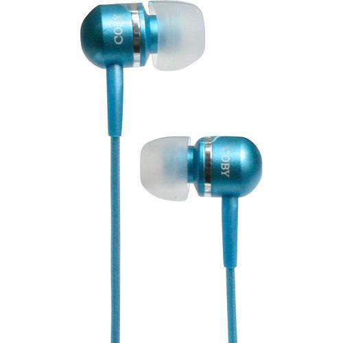 Fone de Ouvido Intra-auricular Com Isolamento Verde Coby Cvem77
