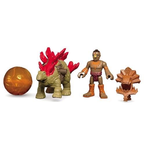 Boneco Imaginext Playset Dinotech Estegossauro Mattel