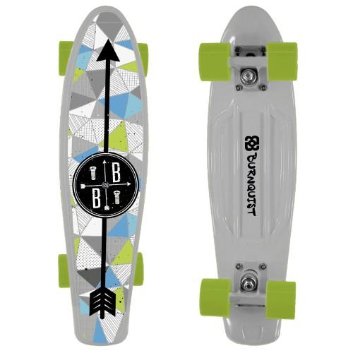Skate Es091 Cruiser - Bob Burnquist Branco Multilaser