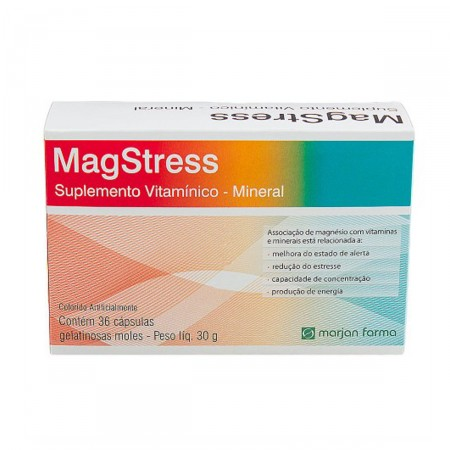 Marjan Mag Stress 36 Cápsulas