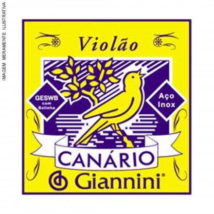 Encordoamento Série Canário 1ª Mi Aço Gesw1 Giannini