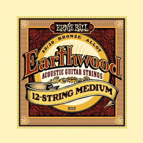 Encordoamento Earthwood 0.11 Aço 2012 Ernie Ball