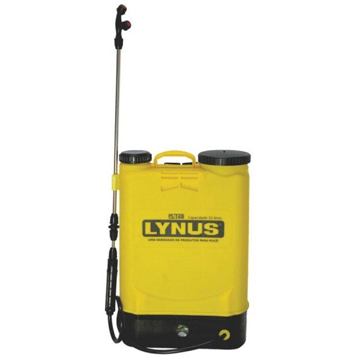 Pulverizador Manual Amarelo Lynus Mpm160i