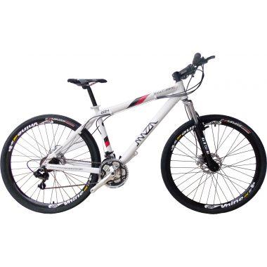 Bicicleta Mazza New Times Disc M T15 Aro 29 Susp. Dianteira 27 Marchas - Prata