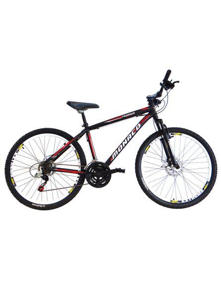 Bicicleta Mazza Monaco T19 Aro 26 Susp. Dianteira 21 Marchas - Preto