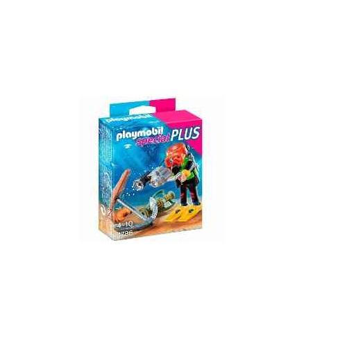 Boneco Playmobil Special Plus Mergulhador Sunny Brinquedos