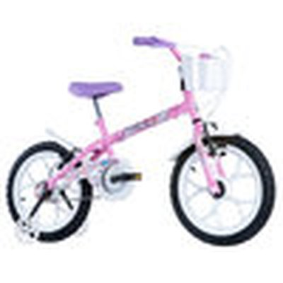 Bicicleta Track&bikes Pinky Aro 16 Rígida 1 Marcha - Rosa