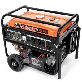 Gerador de Energia Gasolina 7200w Vulcan Equipamentos Monofásico Bivolt - Vg7200
