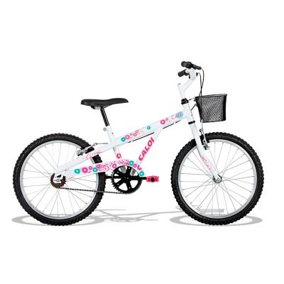 Bicicleta Caloi Ceci Aro 20 Rígida 1 Marcha - Branco