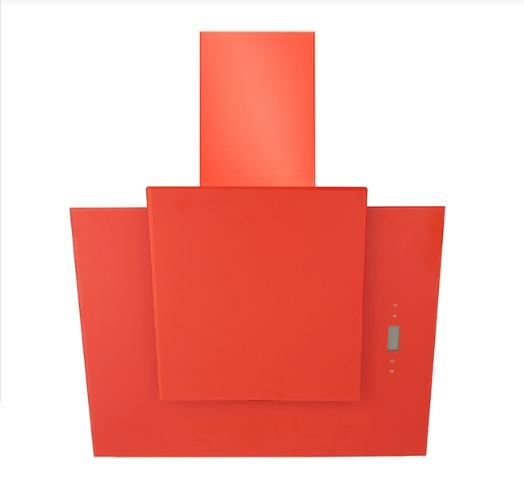 Coifa de Parede Elettromec 80 Cm Magma Vermelha - 220v - Com Vidro Vermelho