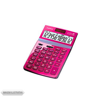 Calculadora 12 Dígitos Rosa Jw200twpk Casio
