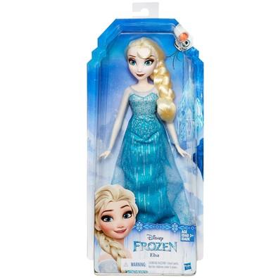 Boneca Princesas da Disney Hasbro Elsa Frozen B5162