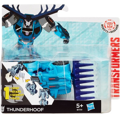 Boneco Transformers Thunderhoof Robots In Disguise One Step Hasbro