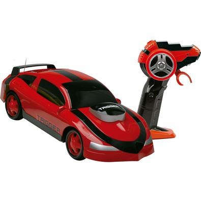 Carro de Controle Remoto Movido a Bateria Trigger Vermelho Candide