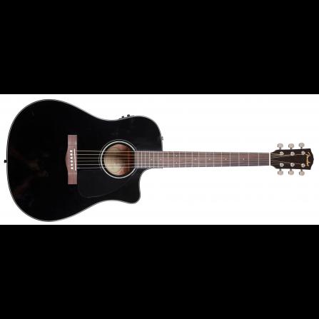 Violão Eletroacústico 6 Cordas Aço Cd60ce Preto - Fender