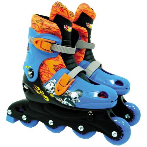 Patins Fun Divirta-se Hot Wheels Azul/laranja 72955
