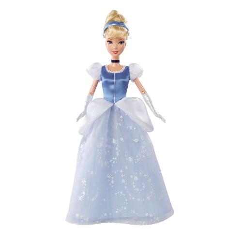 Boneca Princesas da Disney Mattel Clássica Cinderela Bdj26/bdj27