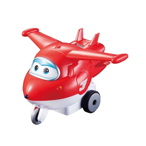 Avião Mini Super Wings - Jett Change em Up Yw710000 Intek Toys