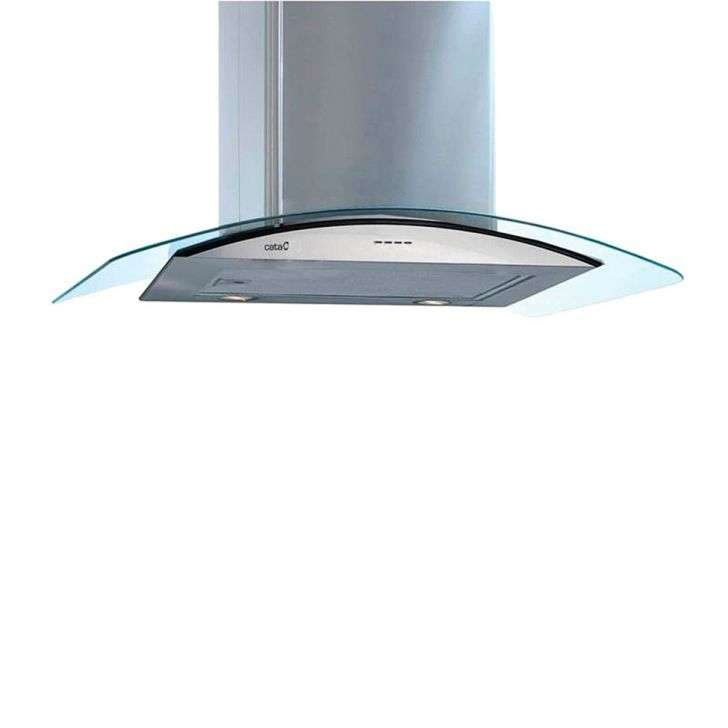 Coifa de Parede Cata 70 Cm Gamma Glass Inox - 110v - Com Vidro - Gamma 700