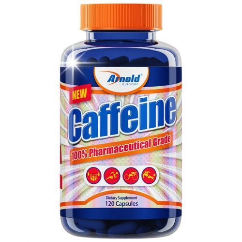 Caffeine Energy - 120 Cápsulas Arnold Nutrition