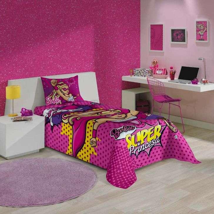 Jogos de Cama Lepper Home Infantil 2 Peças Barbie