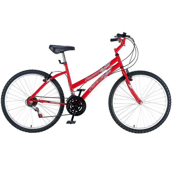 Bicicleta Fischer Runner Sx Aro 26 Rígida 21 Marchas - Vermelho