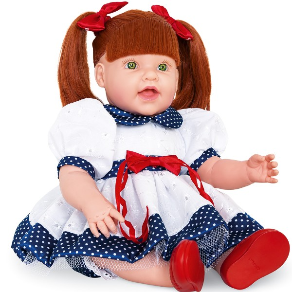 Boneca Dolls - With Love Ruiva 2064 Cotiplás