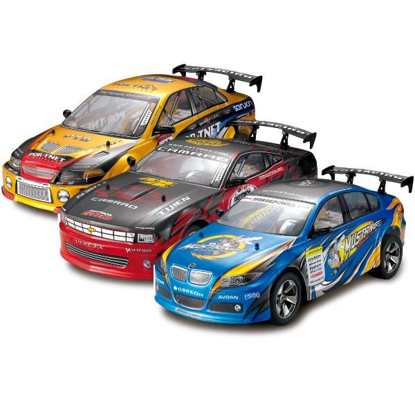 Carro de Controle Remoto Movido a Bateria Racing Master Buba