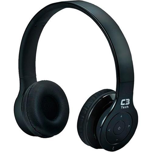 Fone de Ouvido Headphone Bluetooth Preto C3 Tech W530b