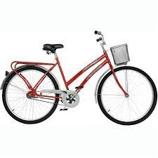 Bicicleta Fischer Princess New Cp Aro 26 Rígida 72 Raios - Vermelho
