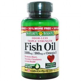 Nature's Bounty Fish Oil 30 Softgels