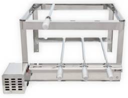 Churrasqueira Artmill Carvão Artgrill Giratório Platinum Bivolt - E-4er