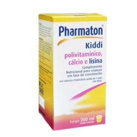 Pharmaton Kiddi Xpe Fr 200ml + Cm - Multivitaminicos Com Minerais - Boehringer